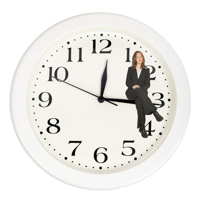 שעון ואישה